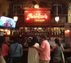 The bar at Giordano's
