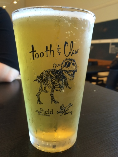 Tooth & Claw glassware also available in the museum store