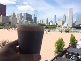 Cheers to Buckingham Fountain and this amazinf city!