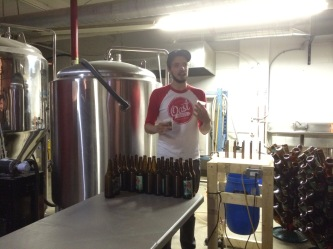 Doesn't capture Trevor's unfiltered enthusiasm for the brewing process!