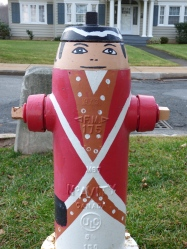 That's one stylish hydrant!