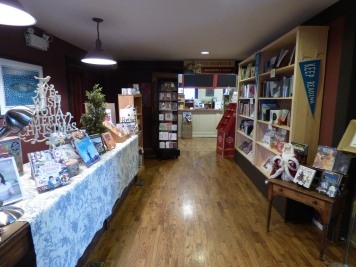The gift store in Lane's