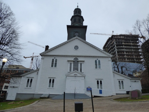 St. Paul's church, the oldest building in Halifax and oldest surviving Protestant church in Canada! Opened in 1750.
