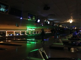 Parkway Lanes - a fun night of bowling!