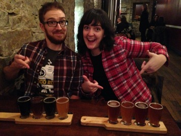 Plaid is the Brewtrippers' team uniform.