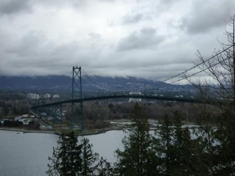 Vancouver's Lions Gate Bridge.