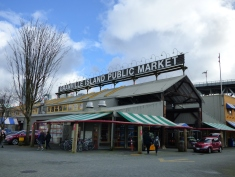 The Granville Island Public Market. So much great stuff to buy!