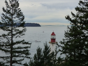 Lighthouse Park! With lighthouse!
