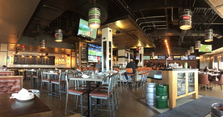 Interior of Beertown Cambridge.