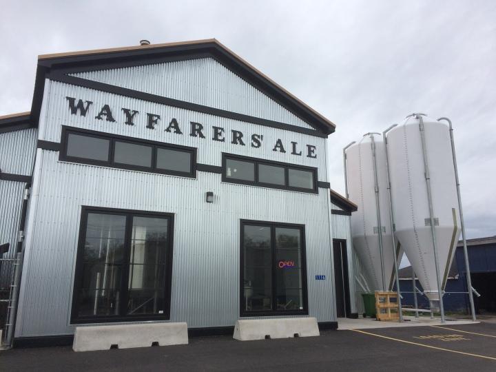 Exterior of Wayfarers' Ale.